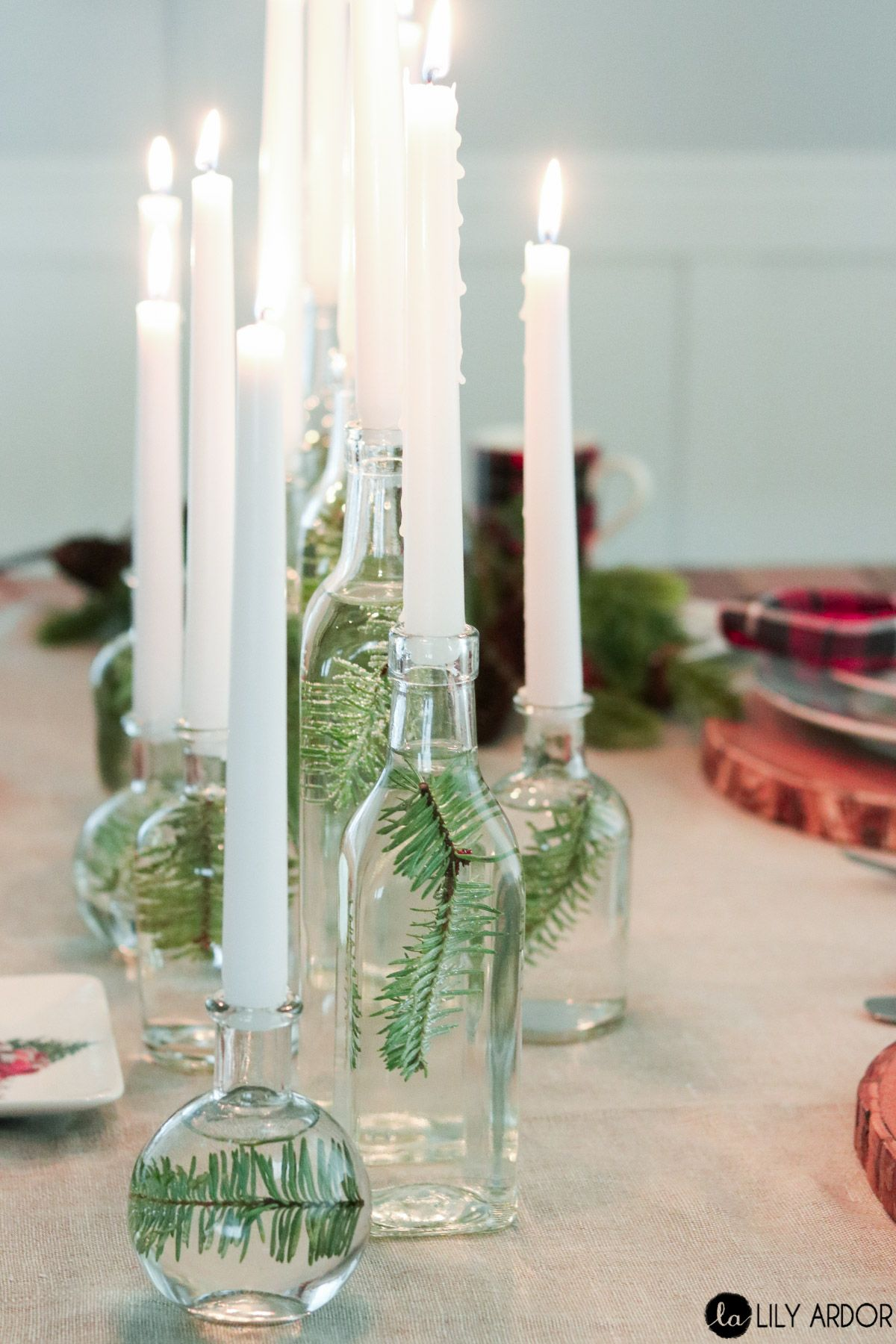 23 Wine Bottle Centerpieces Homemade Wine Bottle Centerpiece Ideas
