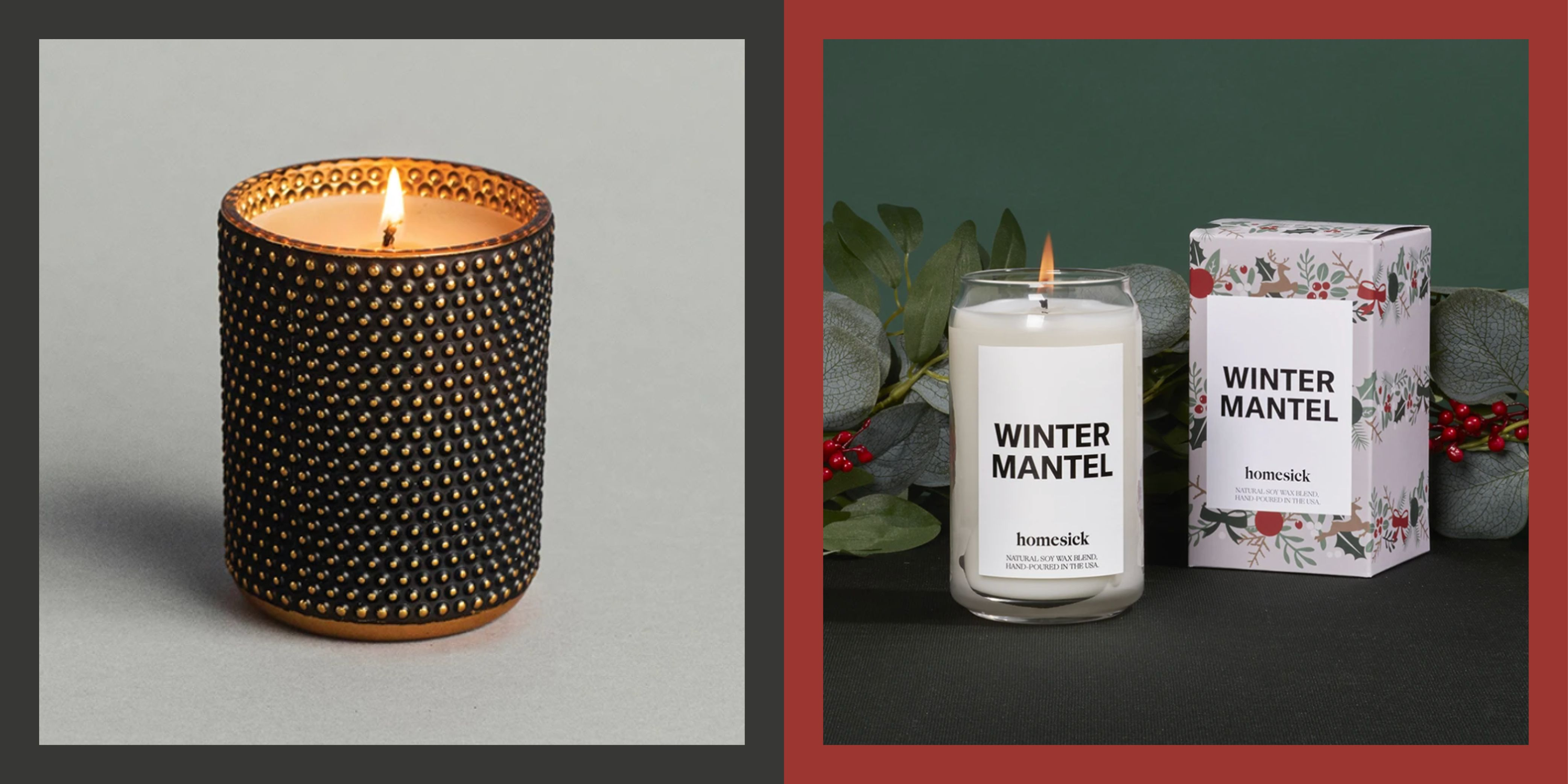 30 Best Christmas Candles 2020 Lovely Scented Holiday Candles