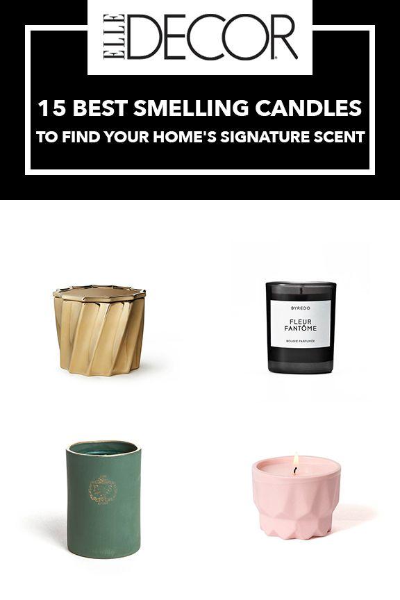 Ordinary Best Smelling Candles Part - 14: Elle Decor