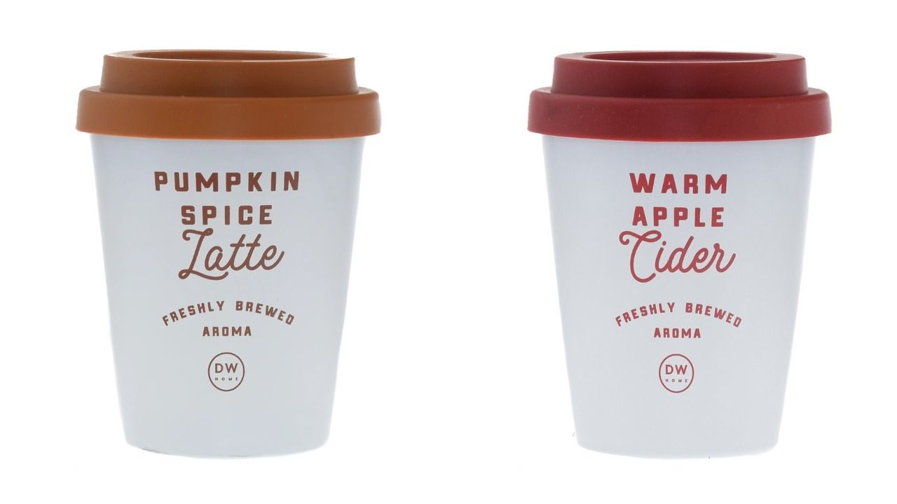 These Pumpkin Spice Latte And Apple Cider Candles Look Like Actual Drinks