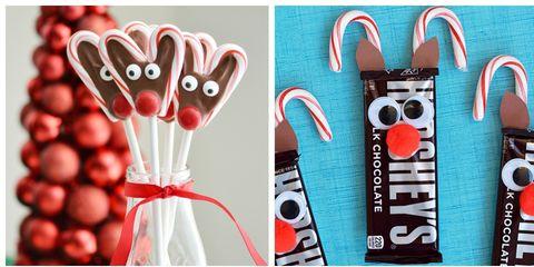 10 Candy Cane Reindeer Crafts Candy Cane Reindeer Ideas