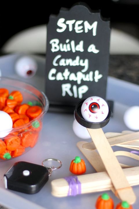 candy catapult halloween game for kids
