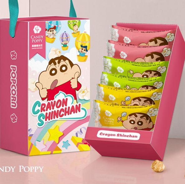kkday推出candy poppy最新蠟筆小新聯名款爆米花
