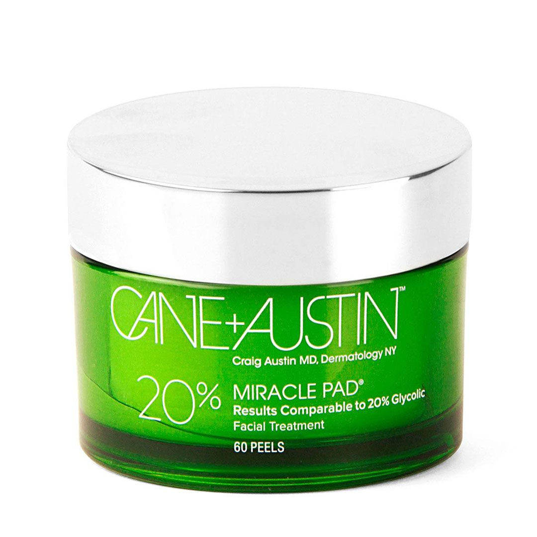 Cane and Austin Miracle Peel 20% glycolic acid treatment