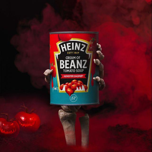 heinz  'cream of beanz tomato soup'