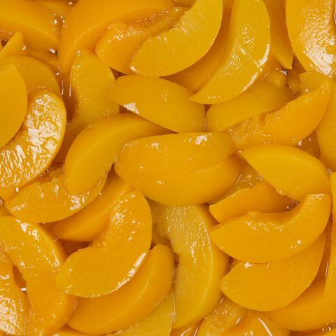 Canned Peaches Collage