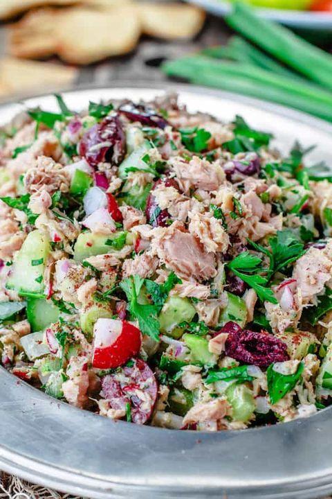 canned tuna recipes mediterranean salad