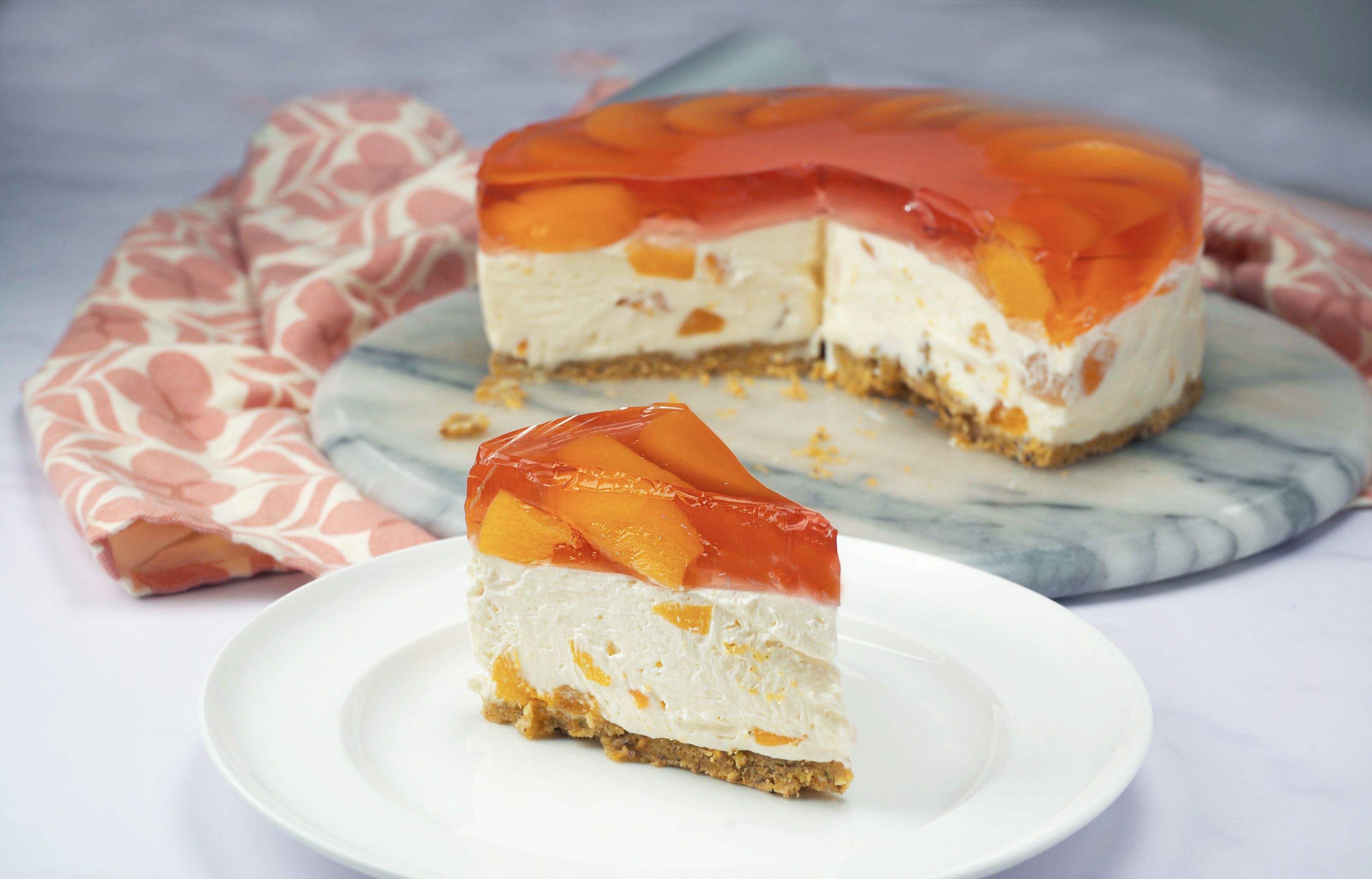 Tinned Rosé Cheesecake