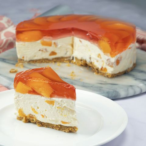Tinned Rosé Cheesecake