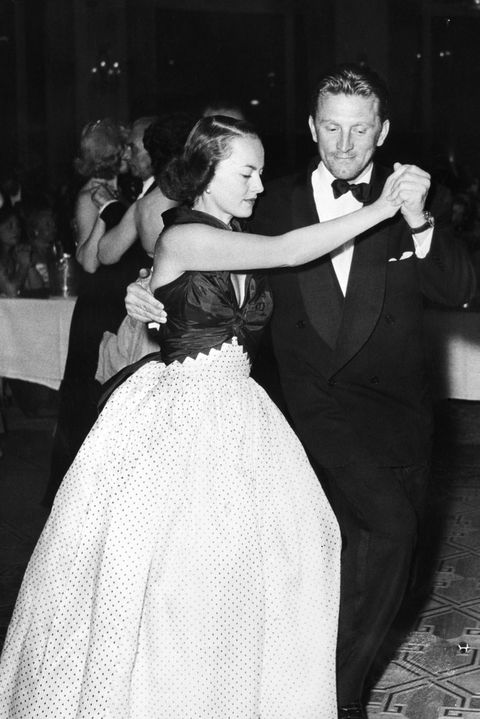 kirk douglas and olivia dehavillad dance