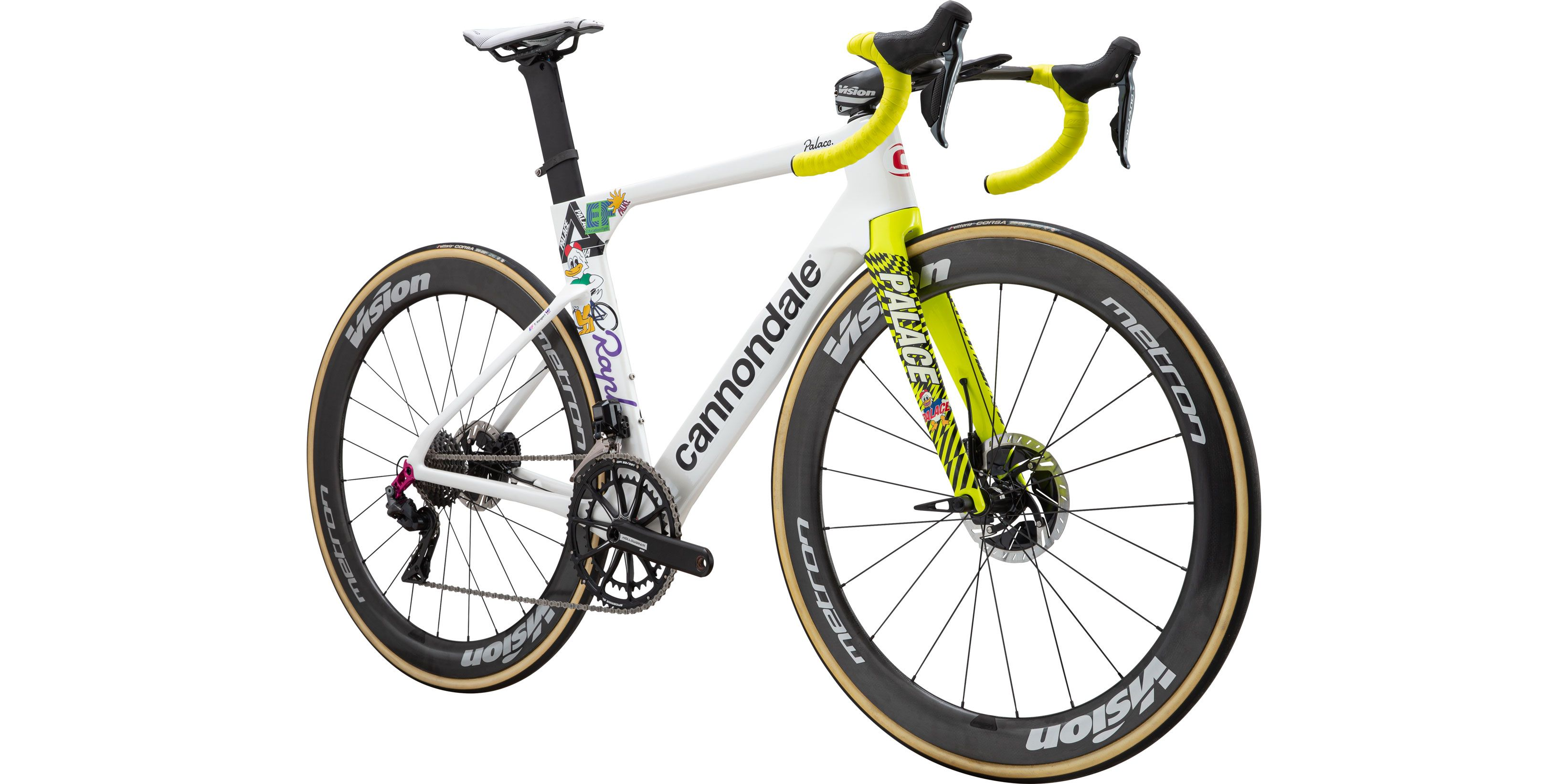 System 6 Duck Giro Super 6 Rapha Palace Cannondale EF Pro Cycling decals x22