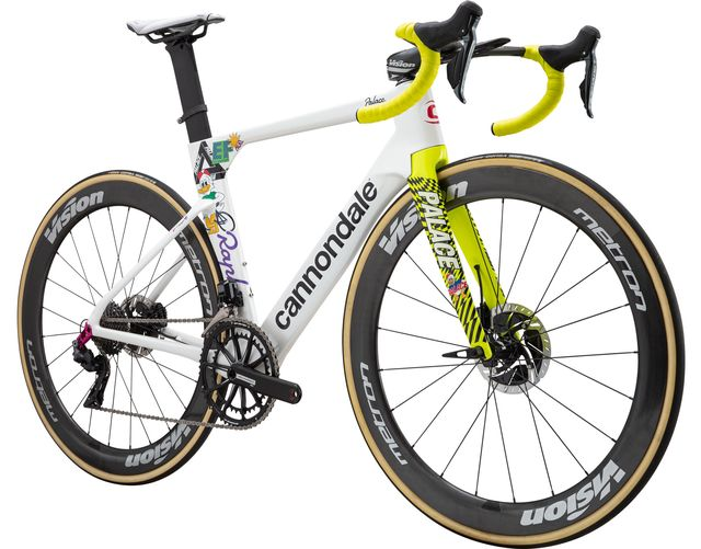 cannondale and ef cycling raffle off team edition giro bikes