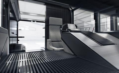 canoo delivery van interior