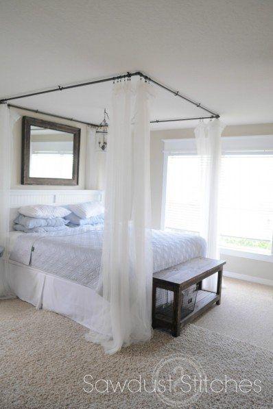 canopy bed boho decor ideas