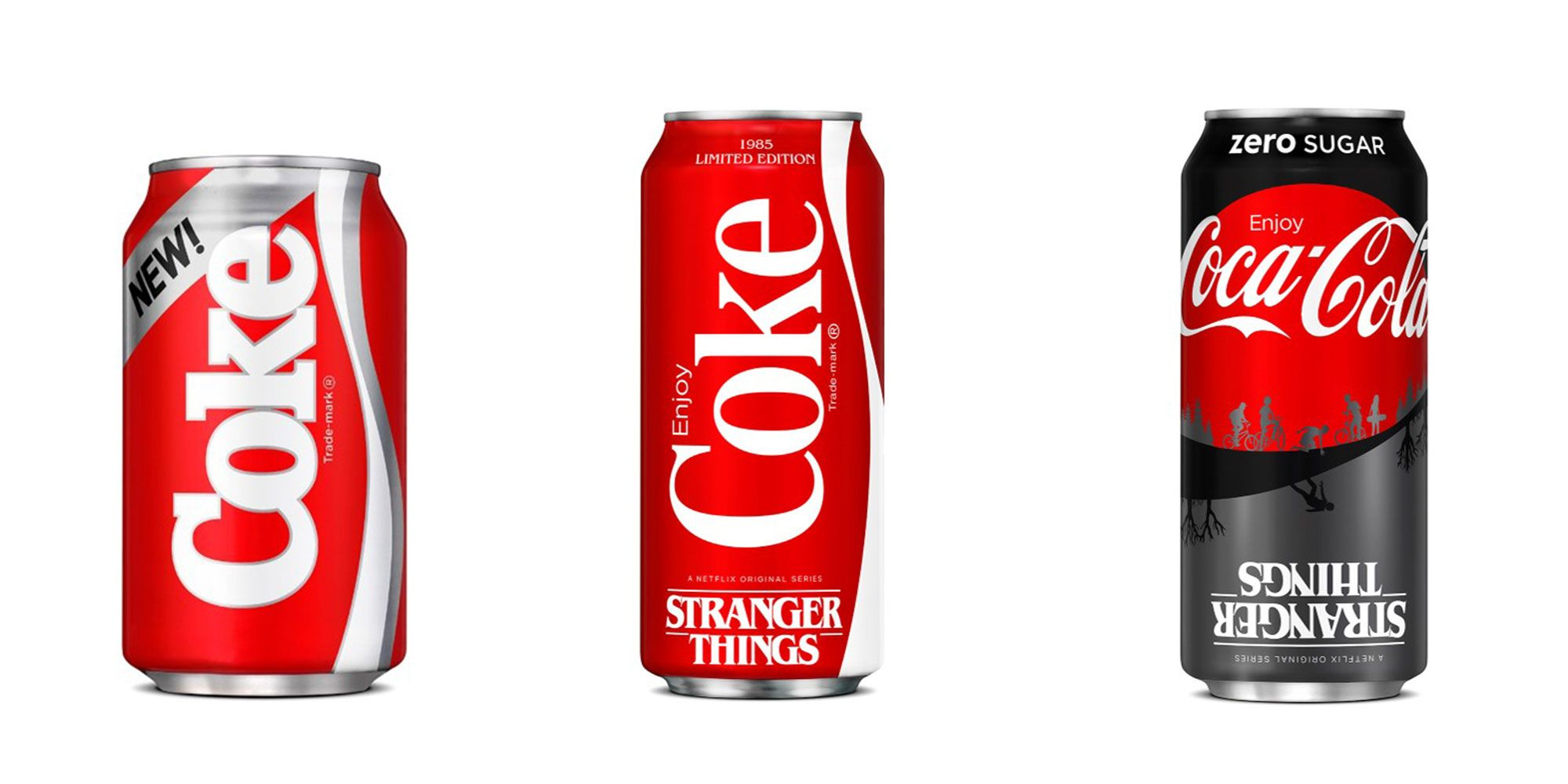 Limited Edition Stranger Things New Coke Coca Cola Rare! NEW