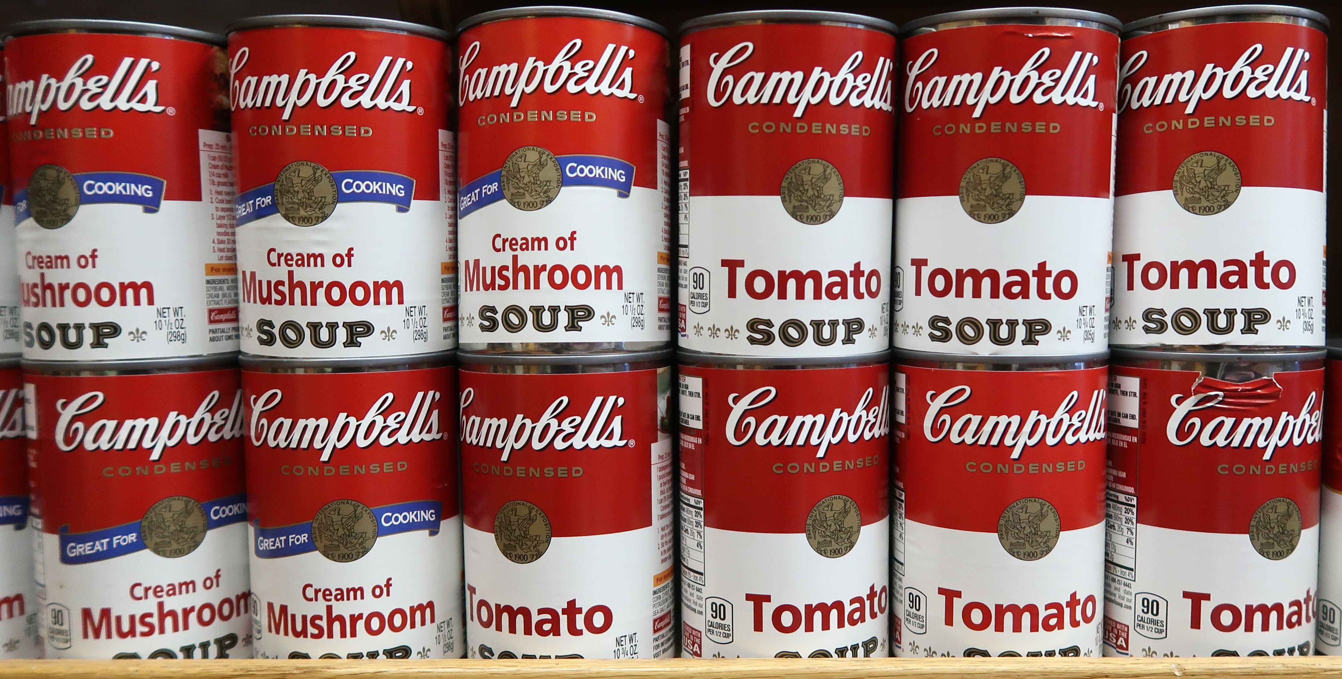 Image result for picture of campbell's soup