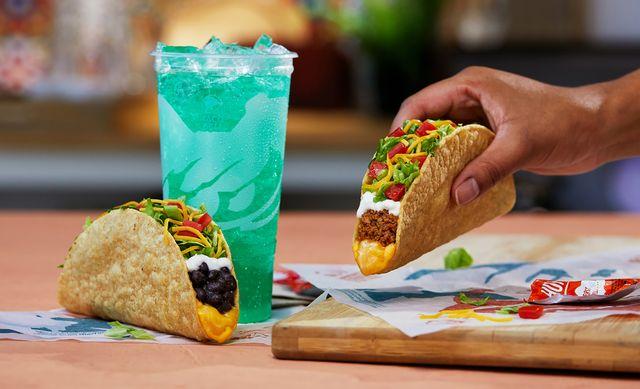 taco bell cantina crispy melt taco