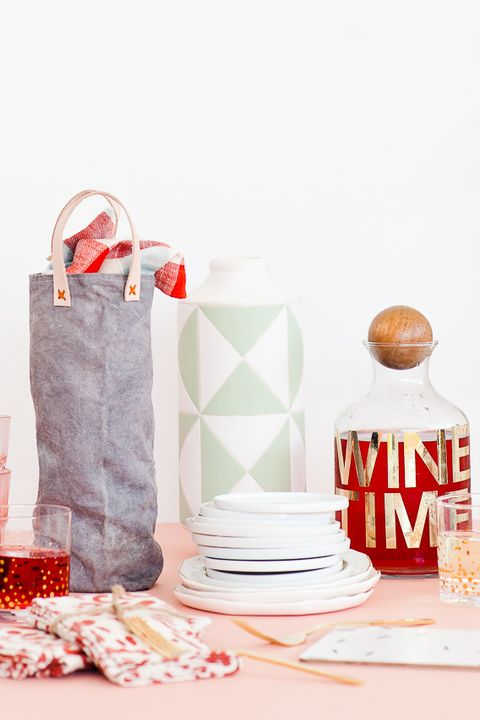 Canvas Wine Bag DIY Gifts for Dad