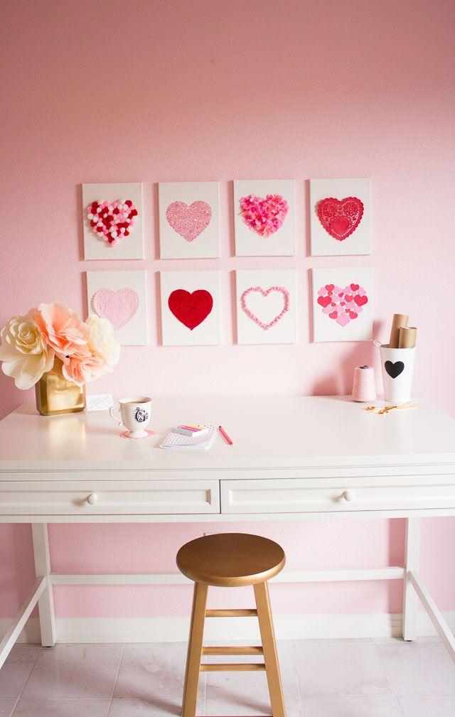 21 Easy DIY Valentineu0027s Day Decorations That Arenu0027t Cheesy Good Ideas
