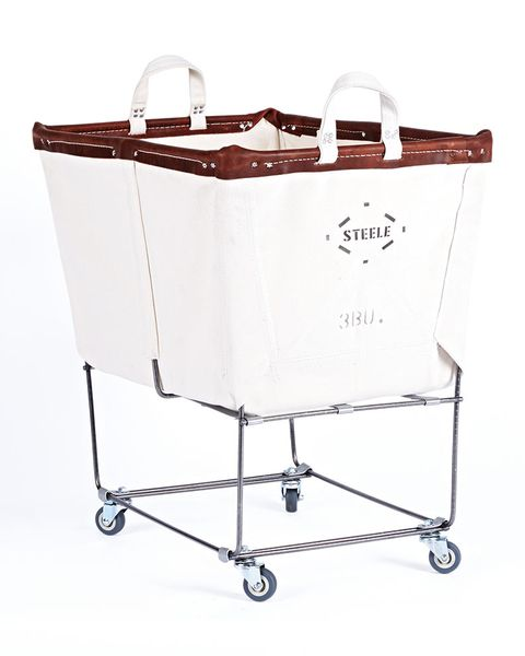 canvas laundry bin