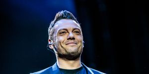 Tiziano Ferro Performs In Milan
