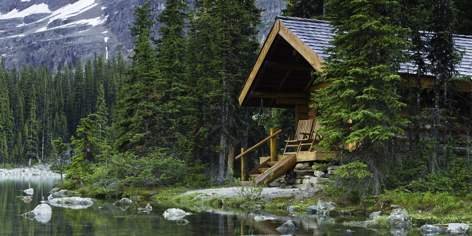 C È Una Casa Nel Bosco la capanna nel bosco, lontana dal mondo, è il lusso