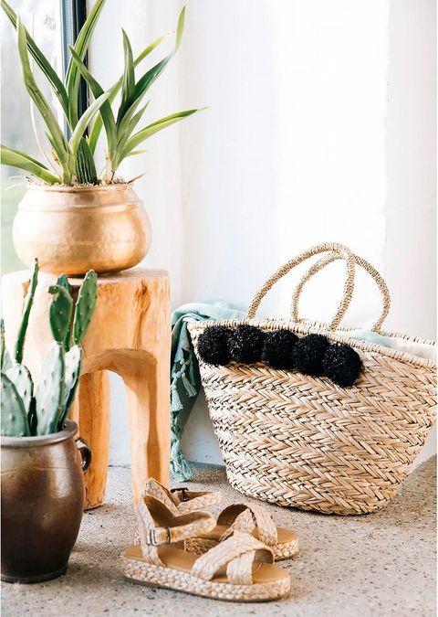 cesta de playa, de la redoute