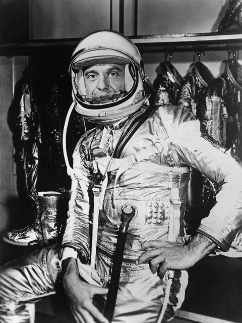 Astronaut Shepard in Space Suit