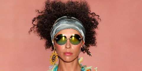 Eyewear, Vision care, Goggles, Hairstyle, Sunglasses, Style, Personal protective equipment, Fashion accessory, Fashion, Colorfulness,