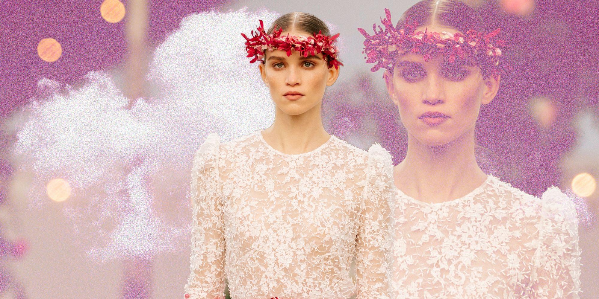 Chanel non ha dubbi, i fiori tra i capelli saranno la nostra promessa d'amore eterno alla bella stagione