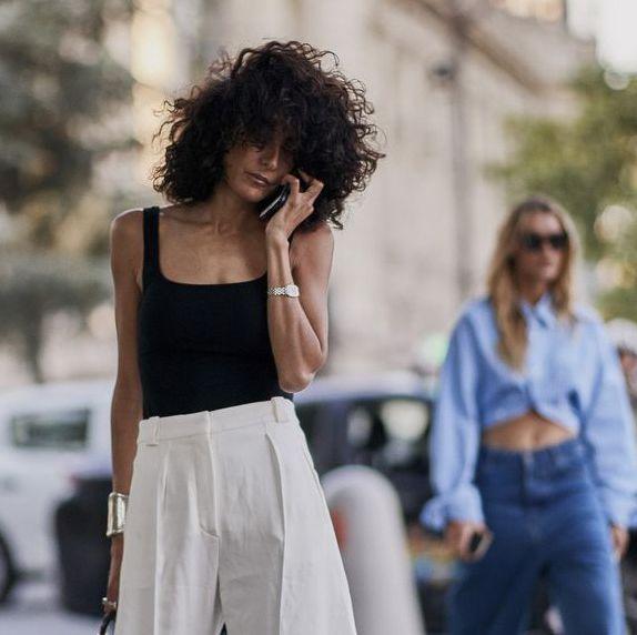 Street fashion, Shoulder, Fashion, Jeans, Photography, Denim, Waist, Shirt, Top, Street,