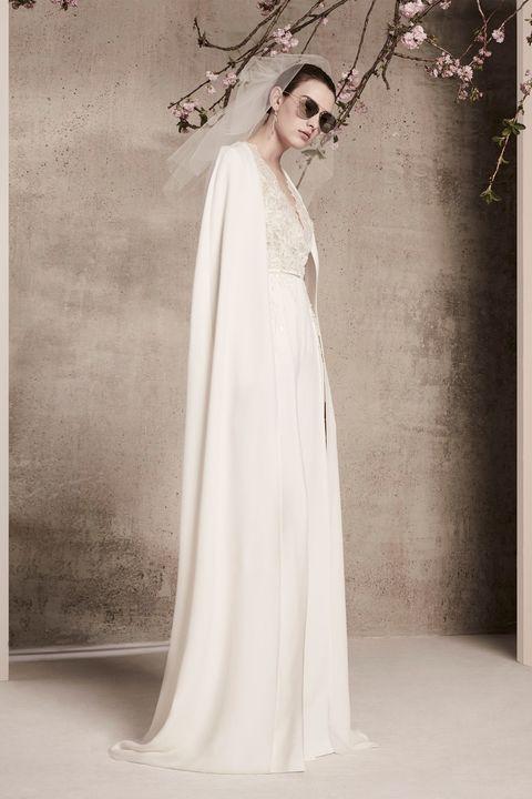 Gown, Wedding dress, Clothing, Dress, Shoulder, Photograph, Bridal clothing, Bridal accessory, Bridal party dress, Bride,