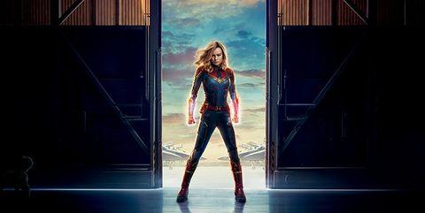 Capitana Marvel poster en español