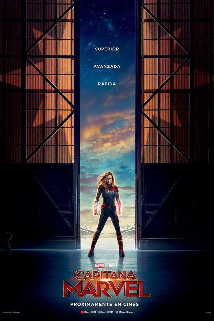 Capitana Marvel poster español