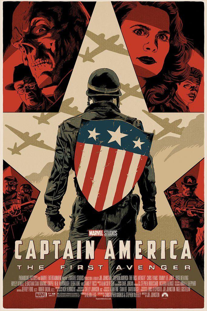 Capitán América primer vengador Mondo