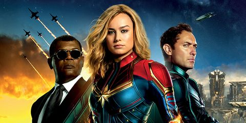Capitana Marvel cartel