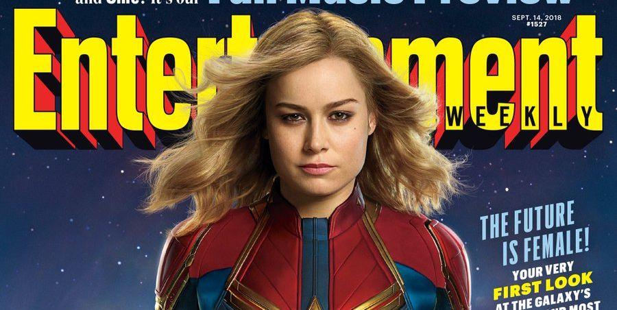 Brie Larson como Capitana Marvel