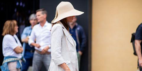 cappello di paglia moda estate 2018