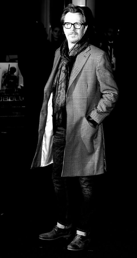 Black, White, Black-and-white, Standing, Monochrome, Fashion, Outerwear, Jacket, Photography, Human,