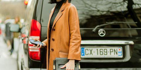 Street fashion, Clothing, Fashion, Automotive design, Vehicle door, Vehicle, Outerwear, Coat, Car, Luxury vehicle,