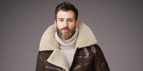 half off d736b 80e8c L'eterno fascino del cappotto in lana shearling