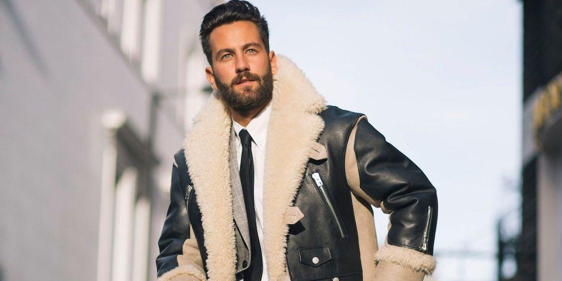 Acquista 2019 Cappotto Invernale Da Uomo In Pelle Di Montone