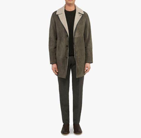 half off 60e9f b6b98 L'eterno fascino del cappotto in lana shearling