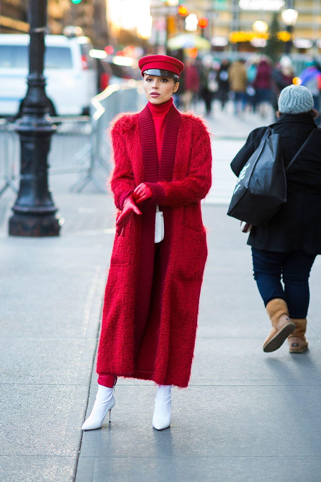 Cappotto rosso: 10 abbinamenti chic moda inverno 2018