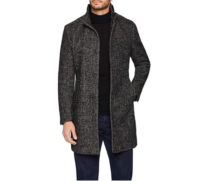 cappotto lungo uomo vecchio