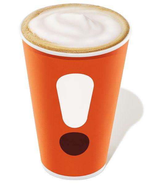 Dunkin Hot Cappuccino