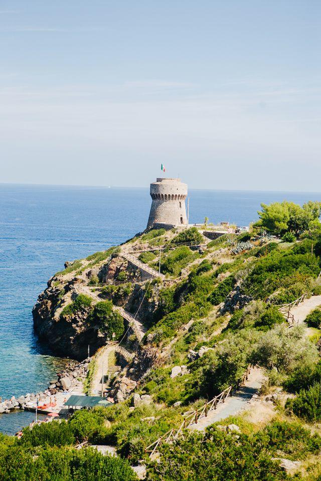 capraia island, tuscany, italy