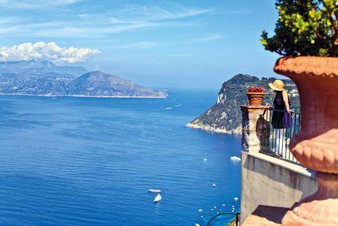 Blue, Sky, Sea, Azure, Coast, Ocean, Tourism, Coastal and oceanic landforms, Vacation, Summer,