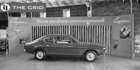Land vehicle, Vehicle, Car, Classic car, Coupé, Sedan, Muscle car, Ford capri, Hardtop,
