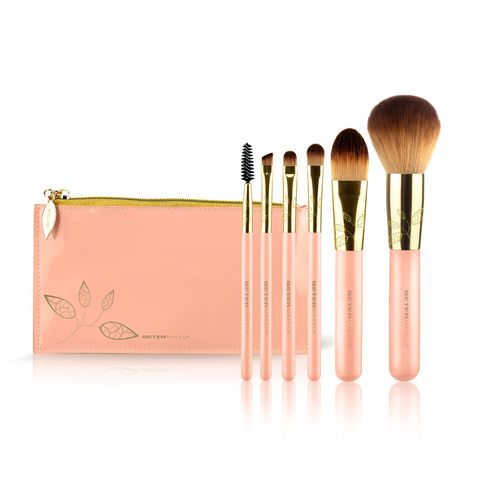 Brush, Makeup brushes, Cosmetics, Beauty, Product, Pink, Eye, Eye shadow, Material property, Tool,